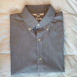 Uniqlo Slim Fit Easy Care Ling Sleeve Shirt (Unworn) Size S